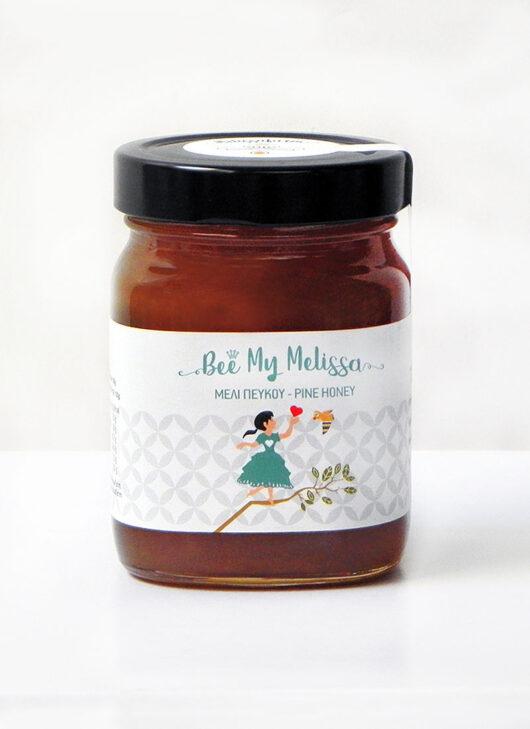 μέλι πεύκου μικρό